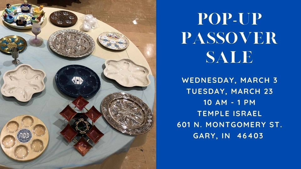 Pop-Up Passover Sale