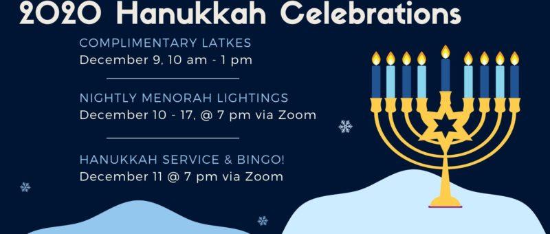 2020 Hanukkah Celebrations