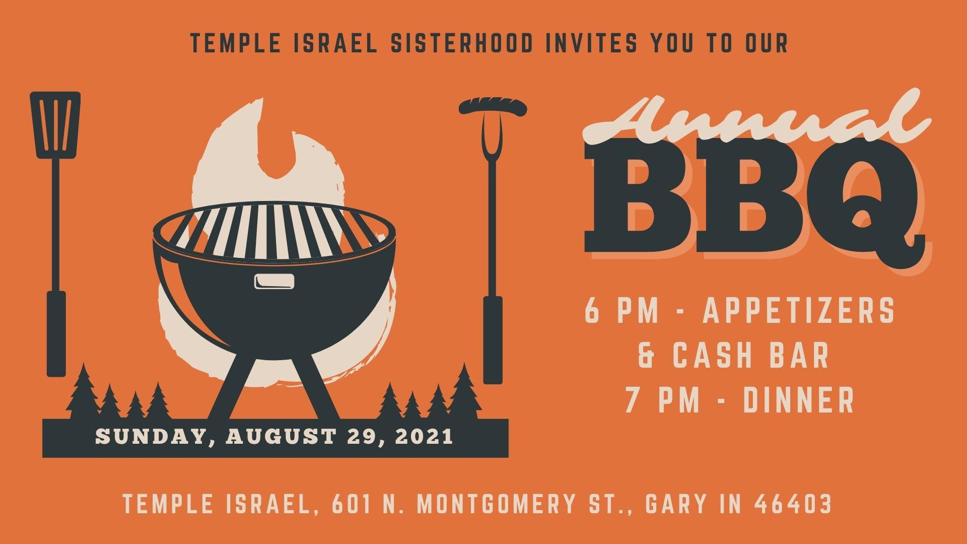 Sisterhood's Annual BBQ