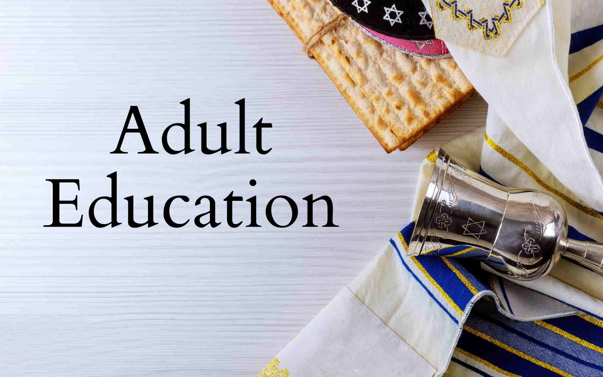 Monthly Adult Education Classes