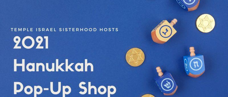 Sisterhood's Hanukkah Pop-Up Shop